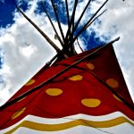 26.  Tepee, Plains Indian Museum Powwow, Cody, Wyoming, 2008.
