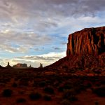 34.  Sunset and Shadows, Monument Valley, Utah, 2013.