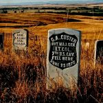35. Last Stand Hill, Little Bighorn Valley, Montana, 1984.