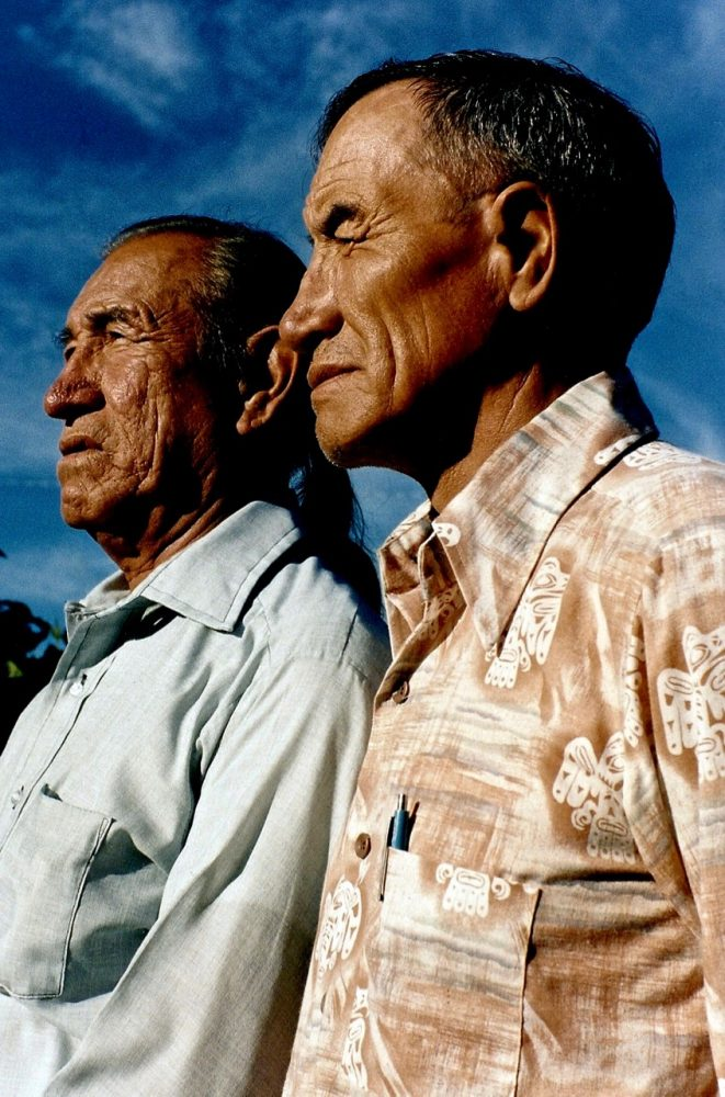 44. Jack and Leo Little, Oglala-Brule-Lakota, Custer, South Dakota, 1984. (1)