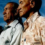44. Jack & Leo Little, Oglala-Brule-Lakota, Custer, South Dakota, 1984.
