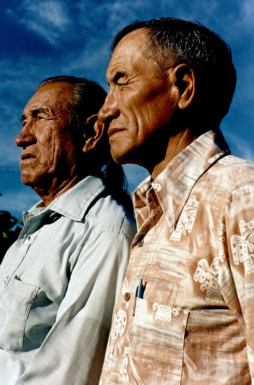 44. Jack and Leo Little, Oglala-Brule-Lakota, Custer, South Dakota, 1984.