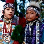 48. Michael Curtis and Quanah Kaline, Cheyenne, Colony, Oklahoma, 1992.