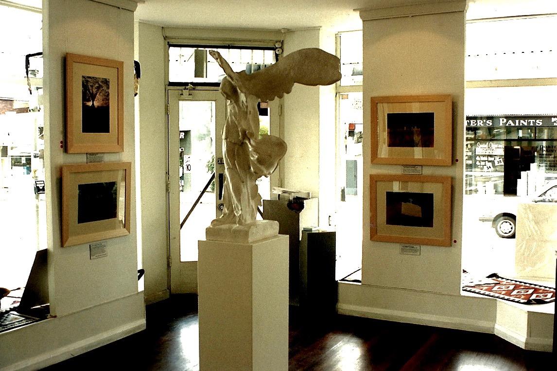 73A. Native Lands Exhibition, Graphis Fine Art Gallery, Woollarha, Sydney, NSW, Australia, 1994. Negative Deleted.