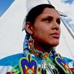217. Morgan King, Assiniboine-Cheyenne, Crow Fair, Crow Agency, Montana, 2009.
