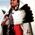 152. Vikki Bob, Navajo, Crow Fair, Crow Agency, Montana, 2010.