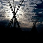 4. Tepee Sunset, Gallup, New Mexico, 1984.