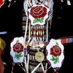 130. Pearl Sammarifa's Regalia, Plains Indian Museum Powwow, Powwow, Cody, Wyoming, 2008.