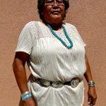 77. Mildred Blackgoat, Navajo, Gallup Inter-Tribal Indian Ceremonial Parade, New Mexico, 2013.