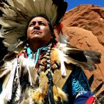 256. Harrison Paul, Navajo, Gallup Inter-Tribal Indian Ceremonial, New Mexico, 2013.