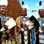 303. Ellena Morgan-Doxtator, Darlene & Tanisha Beetso, Gallup Inter-Tribal Indian Ceremonial, 2013.