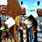 303. Ellena Morgan-Doxtator, Darlene & Tanisha Beetso, Gallup Inter-Tribal Indian Ceremonial, 2013.