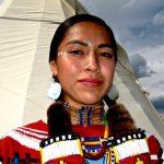 209. Sierra Pete, Navajo, Plains Indian Museum Powwow, Cody, Wyoming, 2011.