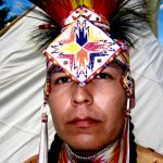 80. Orlando Dugi, Navajo, Plains Indian Museum Powwow, Cody, Wyoming, 2008.