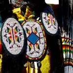 95. Alorha Baga's Regalia, Rosebud Casino Powwow, South Dakota, 2011.
