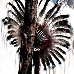 24. Crow Fair Bustle, Crow Agency, Montana, 1999.