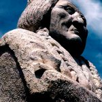 27. Sitting Bull's Monument, Mobridge, South Dakota, 1999.