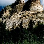 39. Crazy Horse Memorial, Black Hills, South Dakota, 2006.