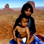 6. Kylie and Bert Attine, Navajo, Monument Valley, Utah, 1987.