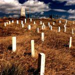 19. Last Stand Hill, Little Bighorn Battlefield, Montana, 1987.
