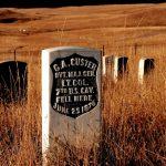 19. Last Stand Hill, Little Bighorn Battlefield, Montana, 1985.
