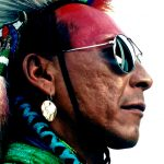 21. Timothy Eashappies, Assiniboine-Lakota, Crow Fair, Montana, 1996.