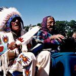 86. Francis & Cerise Stewart, Crow , Crow Fair, Montana, 1999.