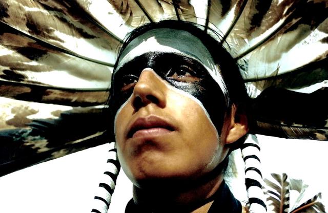26. Jay Eagle, Hunkpapa-Lakota, Crow Fair, Montana, 1996.