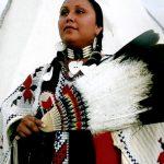 282. Vikki Bob, Navajo, Crow Fair, Montana, 2010.