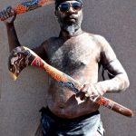 13. George Murray-Wa, Torres Strait Island Nation, Circular Quay, Sydney, New South Wales, Australia, 2013.